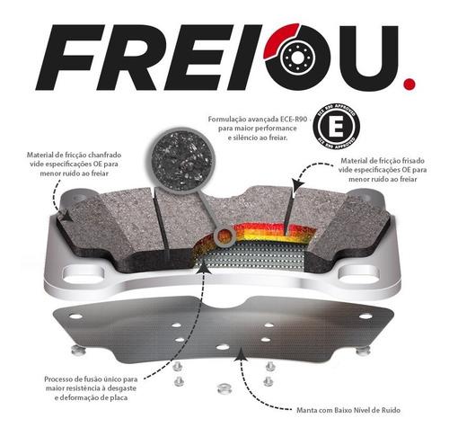 kit pastilha  freio traseira + sensor bmw 320i gt sport 2015