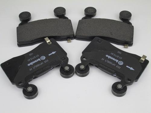 kit pastilhas de freio dianteiro camaro genuino