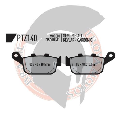 kit pastilhas d/t xl700 transalp s/abs 08-14 potenza 185 140