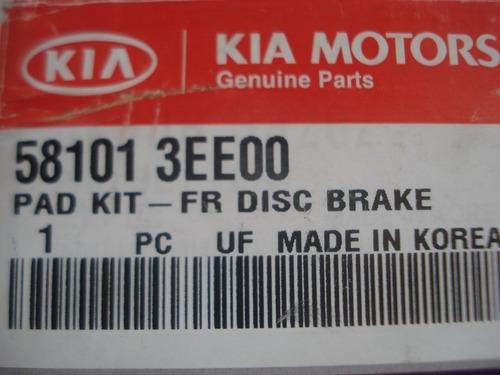 kit pastillas de freno kia sorento part # 581013ee00.