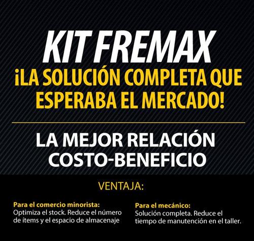 kit pastillas fremax + discos fremax fiat duna uno oferta!