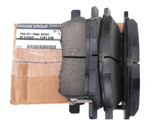 kit pastillas freno delanteras original nissan marchversa