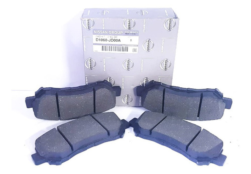 kit pastillas freno delanteras original nissan qashqai j10