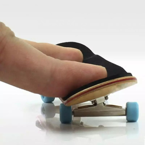 kit patineta fingerboard profesional de madera canadiense