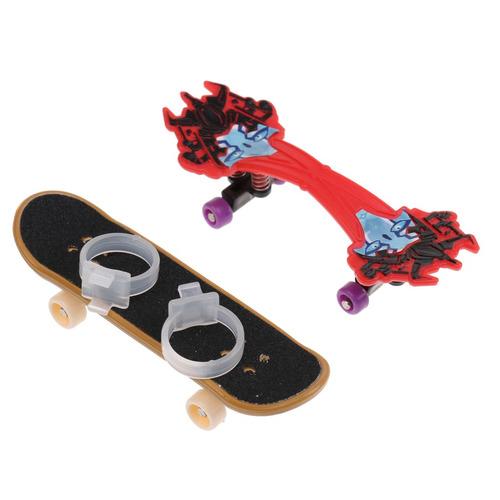 kit patineta rampa partes para tablero de dedos patineta