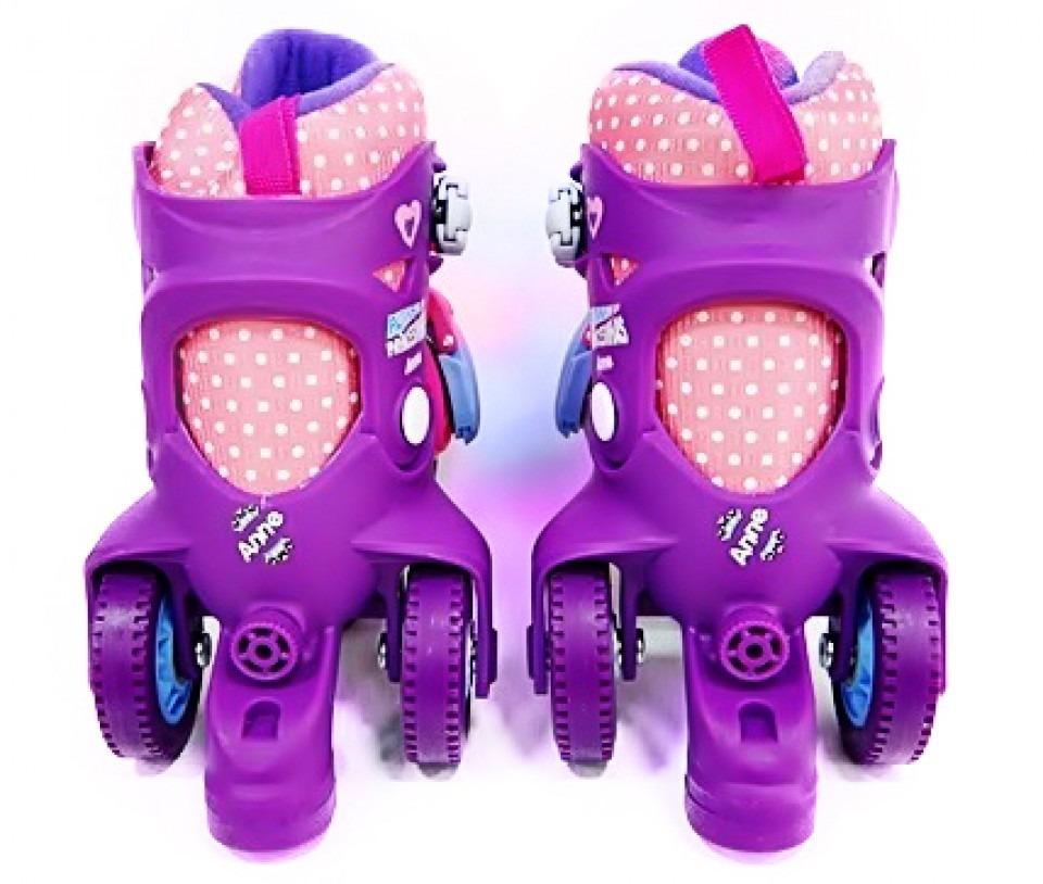 5505d92d717 kit patins infantil feminino ajustável princesinha (31 á 34). Carregando  zoom.