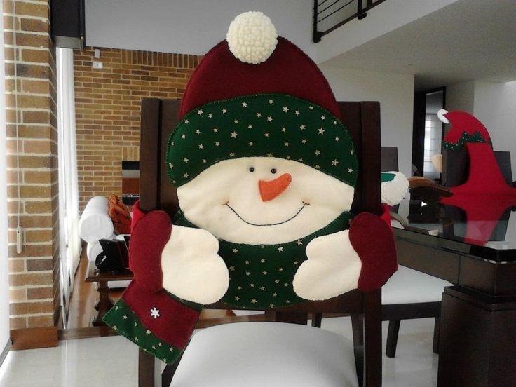 Imagenes De Motivos Navidenos Para Imprimir.Kit Patrones Imprimibles Para Forros Silla Navidad 6 Motivos
