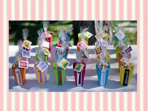 kit patrones para cajas empaques cotillon bolsas imprimibles