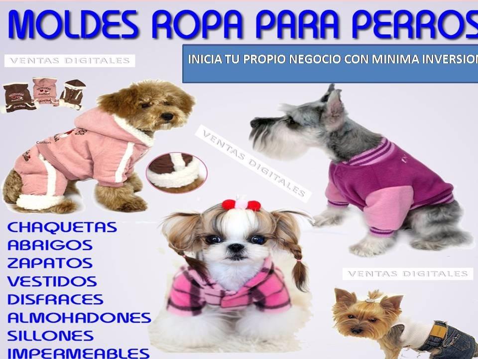 Kit Patrones Ropa Para Perros Disfraces Camas Sillones 2019 ...