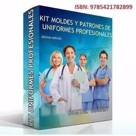 Kit Patrones Uniformes Medicos, Delantales, Pantalones, Ect