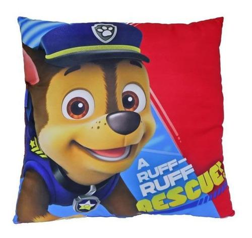 kit patrulha canina com 2 almofadas frente e verso decorados