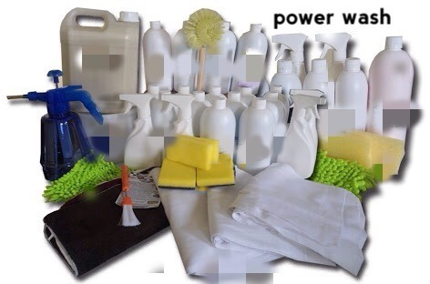kit pawer wash 500 lavagens a seco ecologica
