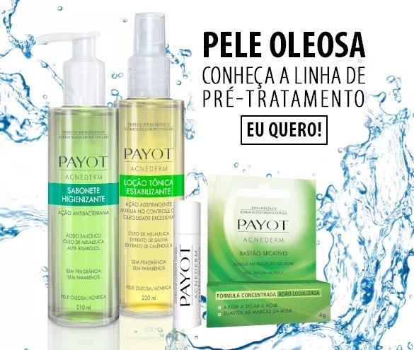 c1826f1c178 Kit Payot Limpeza E Tonificação Pele Oleosa - R  129