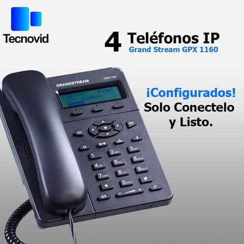 kit pbx telefónico voip configurado para usar todo incluido