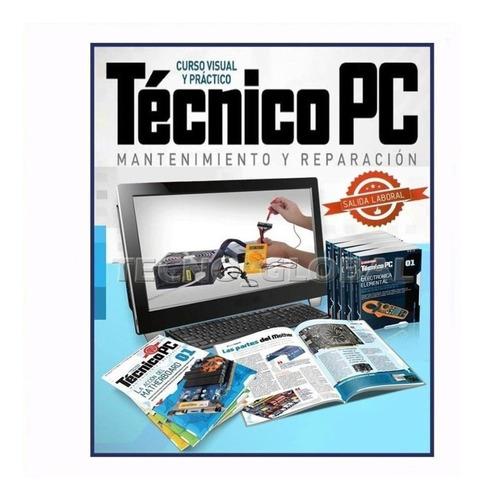 kit pc curso técnico. cpu mantenimiento reparación soporte.