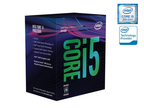 kit pc intel i5 8600k 3.6ghz + asrock b360m + 16gb 2400mhz