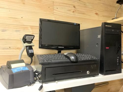 kit pdv; computador + gaveta + leitor + impressora + monitor