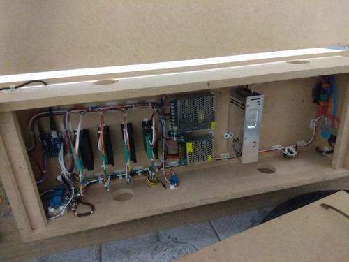 kit peças de completas para montar cnc router