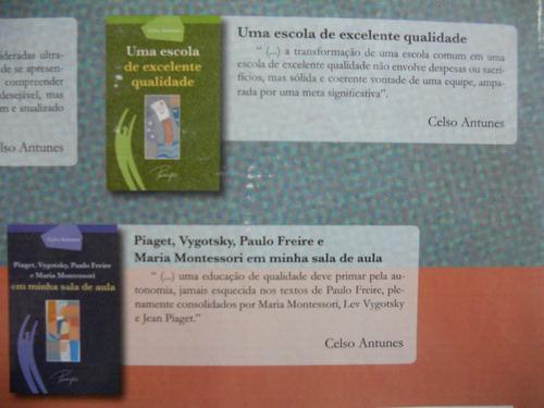 kit pedagógico celso antunes - um olhar para a educação