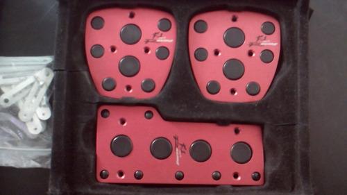 kit pedales o forros en aluminio para carros sincronicos