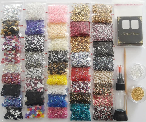kit pedrarias c/ 33.400 + 20 gramas de caviar