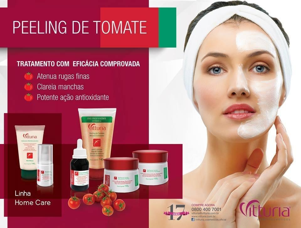 Kit Peelig Tomate Profissional 4 Itens R 239 00 Em Mercado Livre