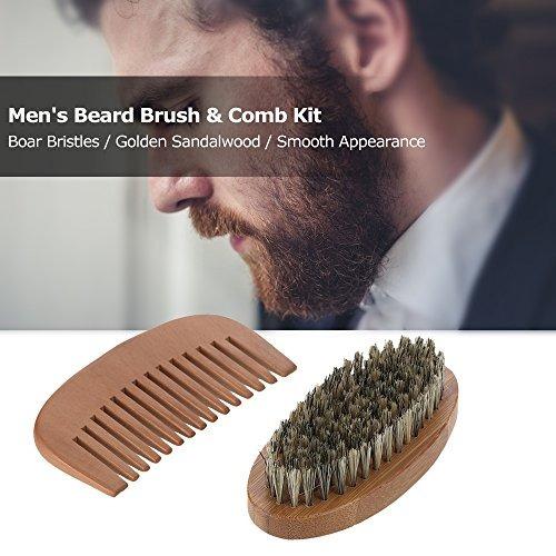 kit peine barba anself, cerdas de jabalí.