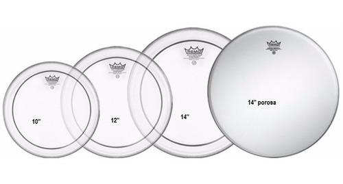 kit pele remo made usa hidraulica 10,12,14,14 pp0110-ps remo usa