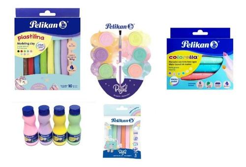 kit pelikan pastel