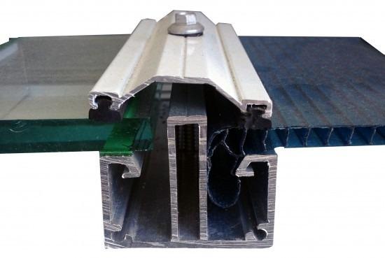 Kit perfis de aluminio trap zio e perfil f 6 metros r for Perfiles aluminio para toldos