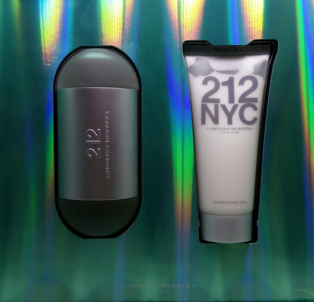45c6fbf7f kit perfume 212 nyc 100 ml+hidratante 100 ml original. Carregando zoom.