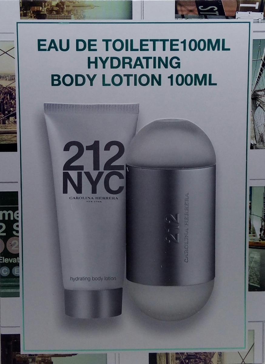 5222fb2fc kit perfume 212 nyc feminino 100ml + hidratante 100ml. Carregando zoom.