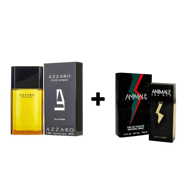 kit perfume azzaro pour homme 200ml + animale for men 100ml. Carregando  zoom. a0bf593dc64