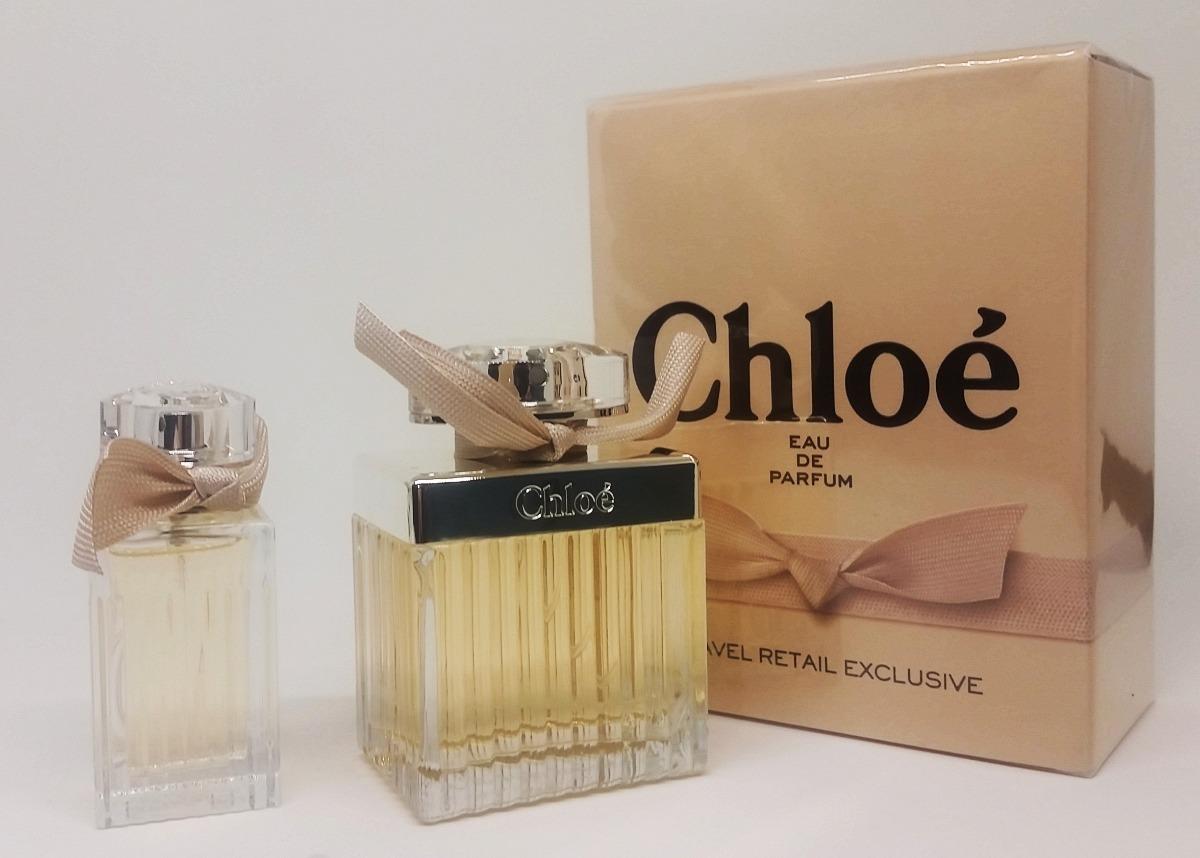 2f8fba4044de6 kit perfume chloé eau de parfum 75ml + 20ml - edp feminino. Carregando zoom.