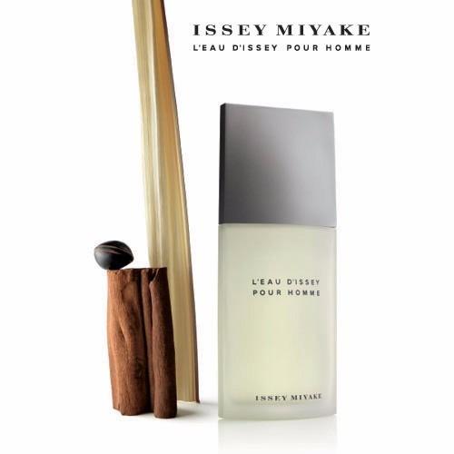 kit perfume issey miyake l eau d issey masculino 125ml