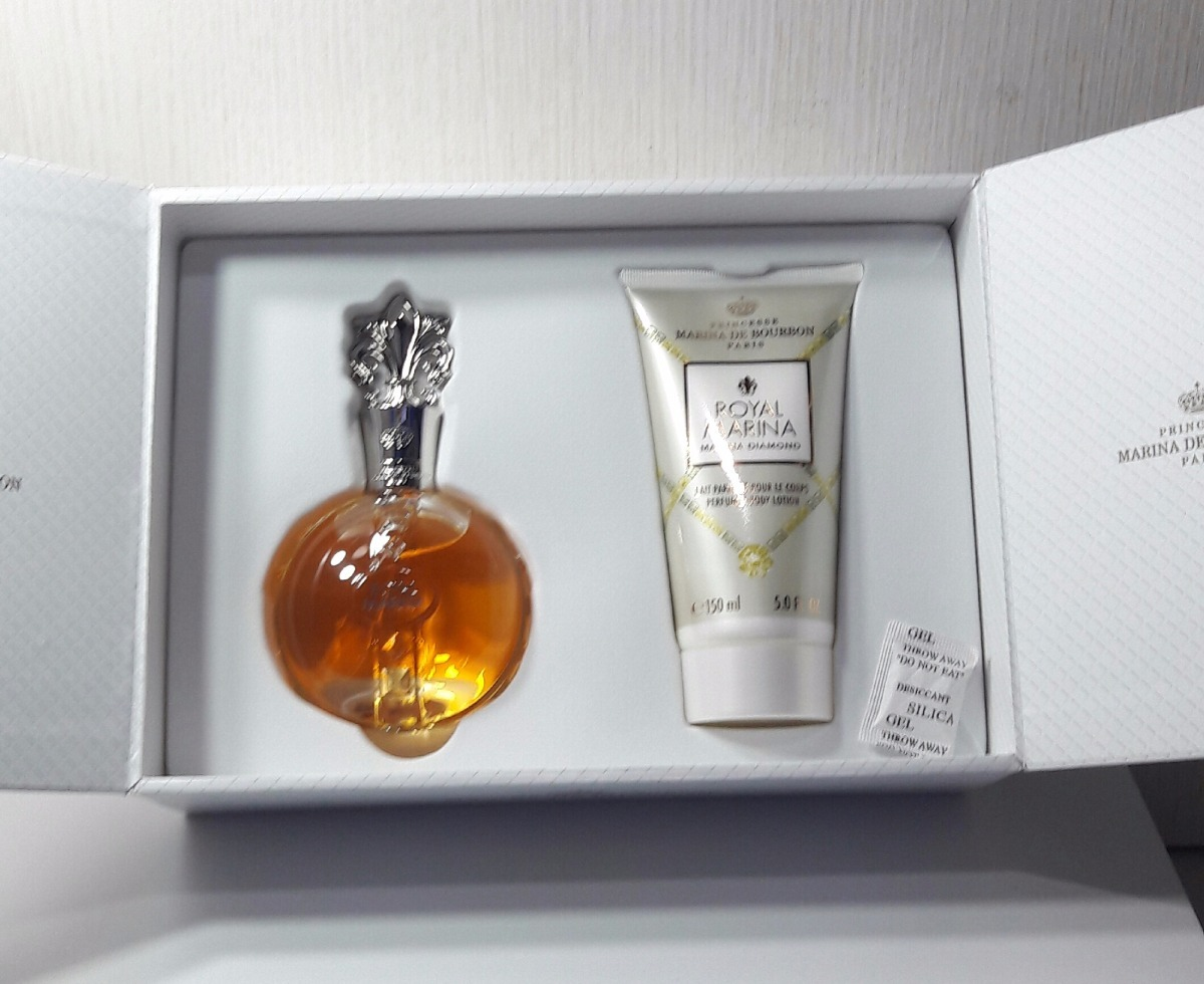 f485366987 kit perfume marina de bourbon royal marina diamond edp 100ml. Carregando  zoom.