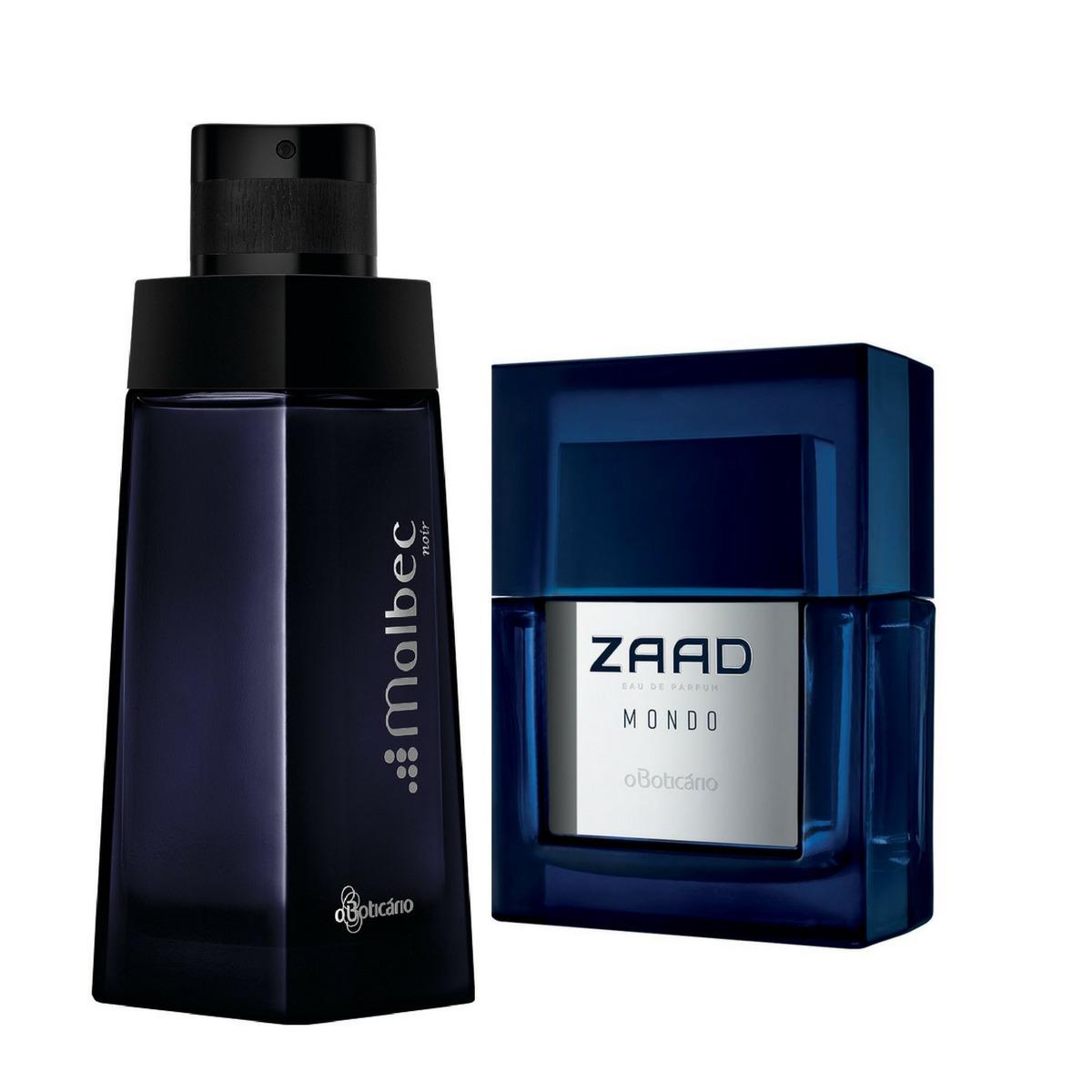 2d8b1d0ae Kit Perfume Masculino O Boticario Zaad Vision+malbec Noir - R  479 ...