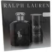 kit perfume polo black 125ml + desodorante - 100% original