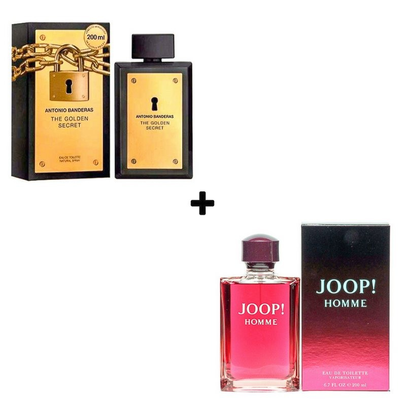 a864300194 Kit Perfume The Golden Secret 200ml + Joop Homme 200ml Edt - R  919 ...