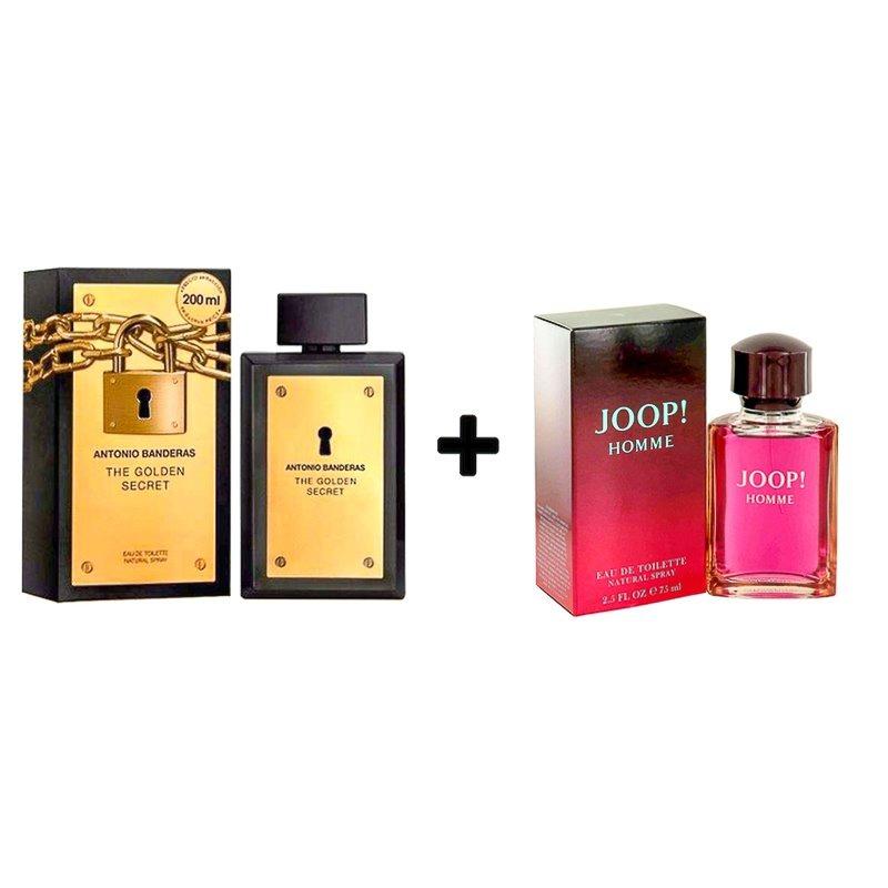 d52c8fbf23 Kit Perfume The Golden Secret 200ml + Joop Homme 75ml Edt - R  930 ...