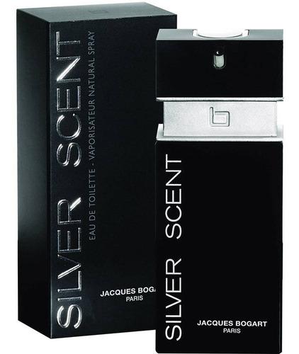 kit perfumes silver scent 100ml & ferrari black 125ml oferta