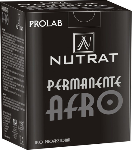 kit permanente afro pequeno prolab