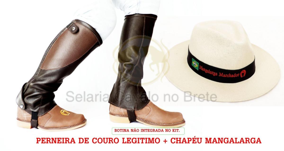 a0c5b582cd0d9 kit perneira sanfonada preta + chapéu mangalarga oferta. Carregando zoom.