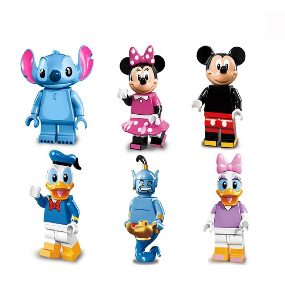 Kit Personagens Clássicos Desenho Disney E Turma Bonecos Top