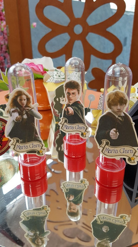 kit personalizados harry potter - 50 itens