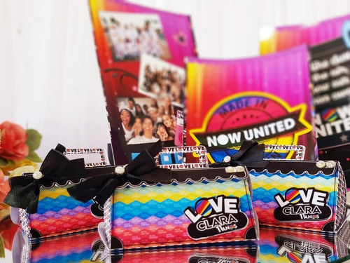 kit personalizados now united - 40 itens