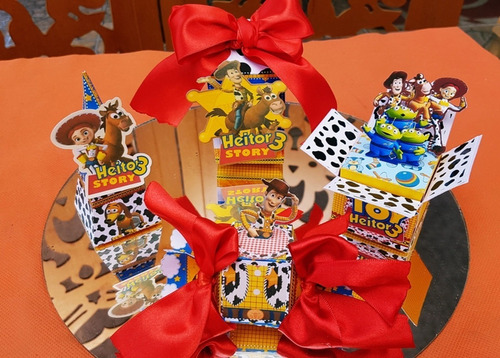 kit personalizados toy story - 40 itens