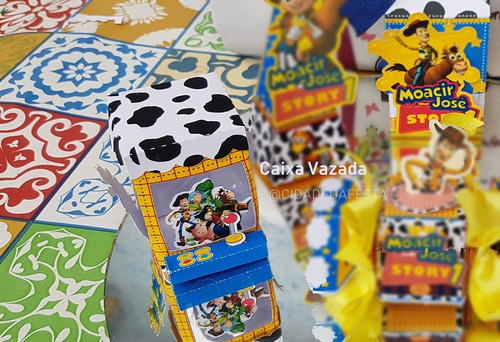 kit personalizados toy story - 60 itens