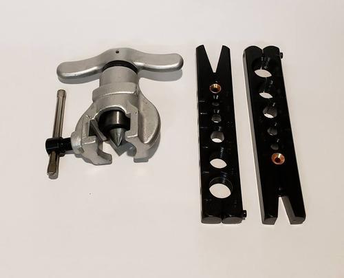 kit pestañadora excentrica y manifold r 410 completo