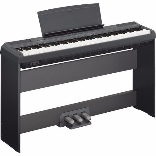 kit piano yamaha p115 88 teclas fonte mesa l85 3 pedais r em mercado livre. Black Bedroom Furniture Sets. Home Design Ideas